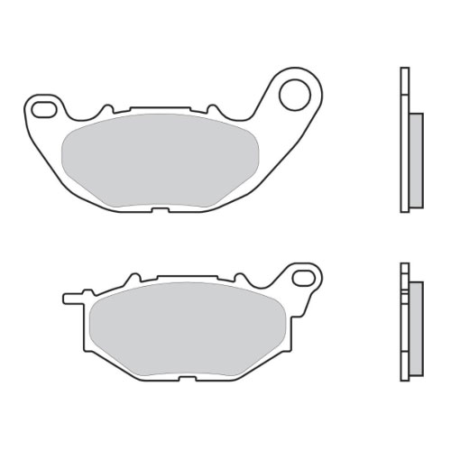 BREMBO ΤΑΚΑΚΙΑ ΣΕΤ ΕΜΠΡΟΣ (R + L) ΓΙΑ YAMAHA R3 BRAKE PADS KIT FRONT (R + L) FOR YAMAHA R3