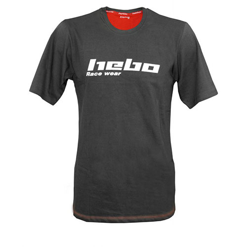 HEBO T-SHIRT SMALL ΓΚΡΙ HM5501SG