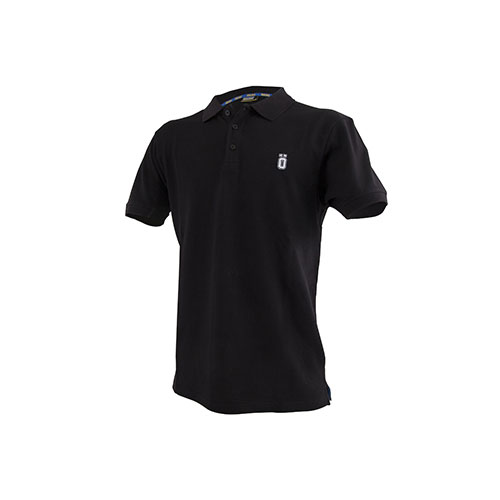 OHLINS T-SHIRT POLO ΜΑΥΡΟ (L)