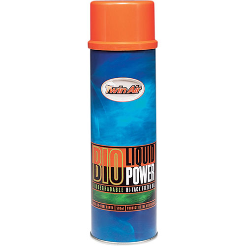 TWIN AIR LIQUID BIO POWER SPRAY, AIR FILTER OIL (500ML) 159018M