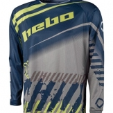 HEBO JERSEY END-M/X STRATOS M-BLUE-HE2537MA