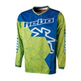 HEBO JERSEY END-M/X SWAY SMALL GREEN BLUE HE2535SV