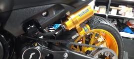 Öhlins Αμορτισέρ για Yamaha T-MAX 530 2017 και T-MAX 560 2020